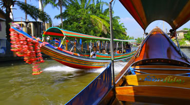 EXB002 - Bangkok Klong Tour / Canal Tour (Venice of the East, no lunch, half-day) Represents five regions of Thailand