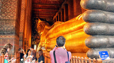 EXB003 - Bangkok Temple Tour Half day (Golden Buddha / Reclining Buddha / Marble temple, no lunch, half-day) Most popular PATPONG Night Market